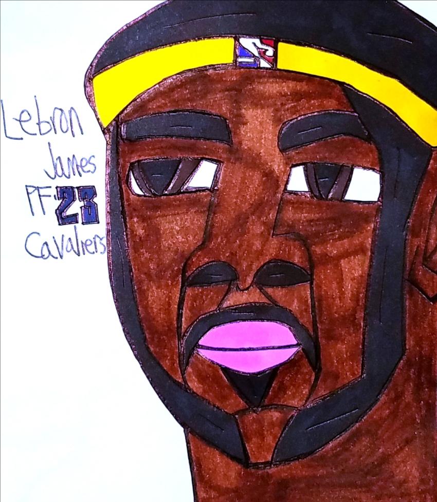 LeBron James par armattock